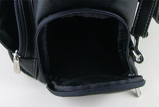 Side Pocket Of The Targus Madison Video Backpack - DKSBP1