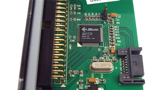 The MTP-101 Brain - JMicron JM20330 Microchip