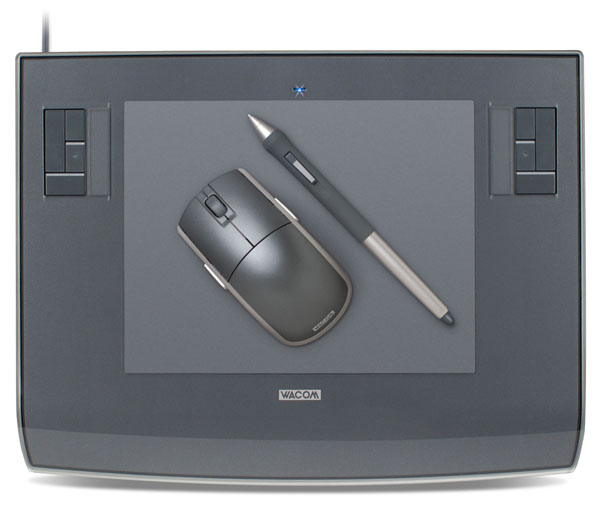 Wacom Intuos3 6x8 Graphic Pen Tablet